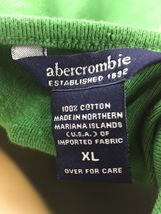 Abercrombie & Fitch Girls Green Short Sleeve Shirt Size XL image 3