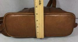 American Angel Brown Leather Multi Pocket Shoulder Bag – Distressed image 7
