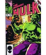 Incredible Hulk #312 ORIGINAL Vintage 1984 Marvel Comics 1st Brian Banner - $19.79
