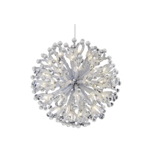AM8801: Clear Curled Snowflake  - $2,065.00 - $8,450.00