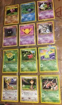 12 Pokemon 1995 Trading Cards Lot Tyrogue Drowzee Gastly Aridos Skiploom... - $24.75