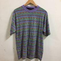 Vintage Columbia Striped Graphic Shirt Size L - $26.00