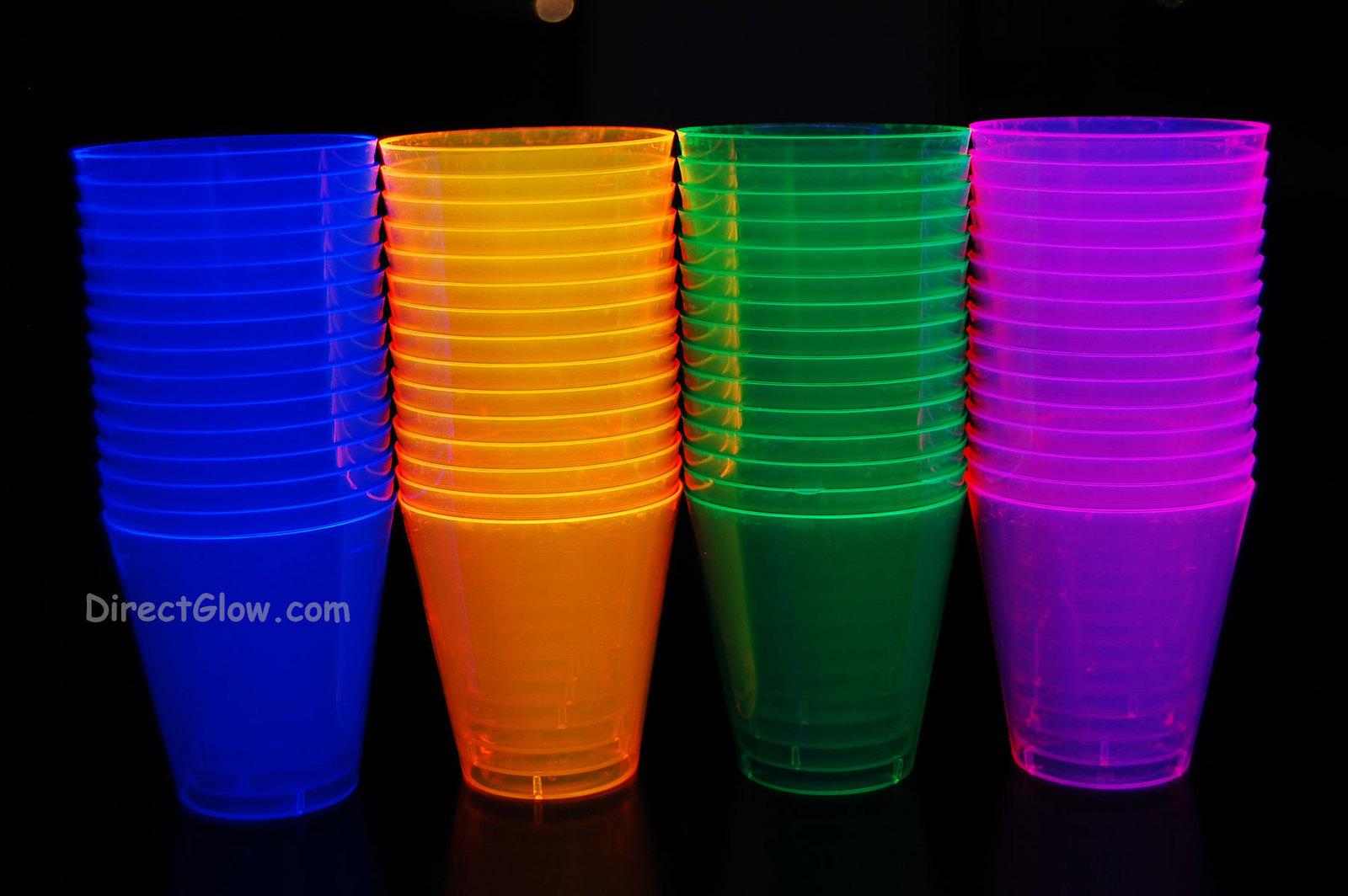 2oz assorted blacklight shots1