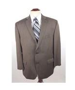 Calvin Klein Men's size 46R Brown Wool Blazer Sport Coat Jacket - $28.88
