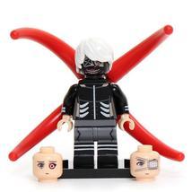 Ken Kaneki Tokyo Ghoul Lego Minifigures Block Toy Gift for Kids - $1.99