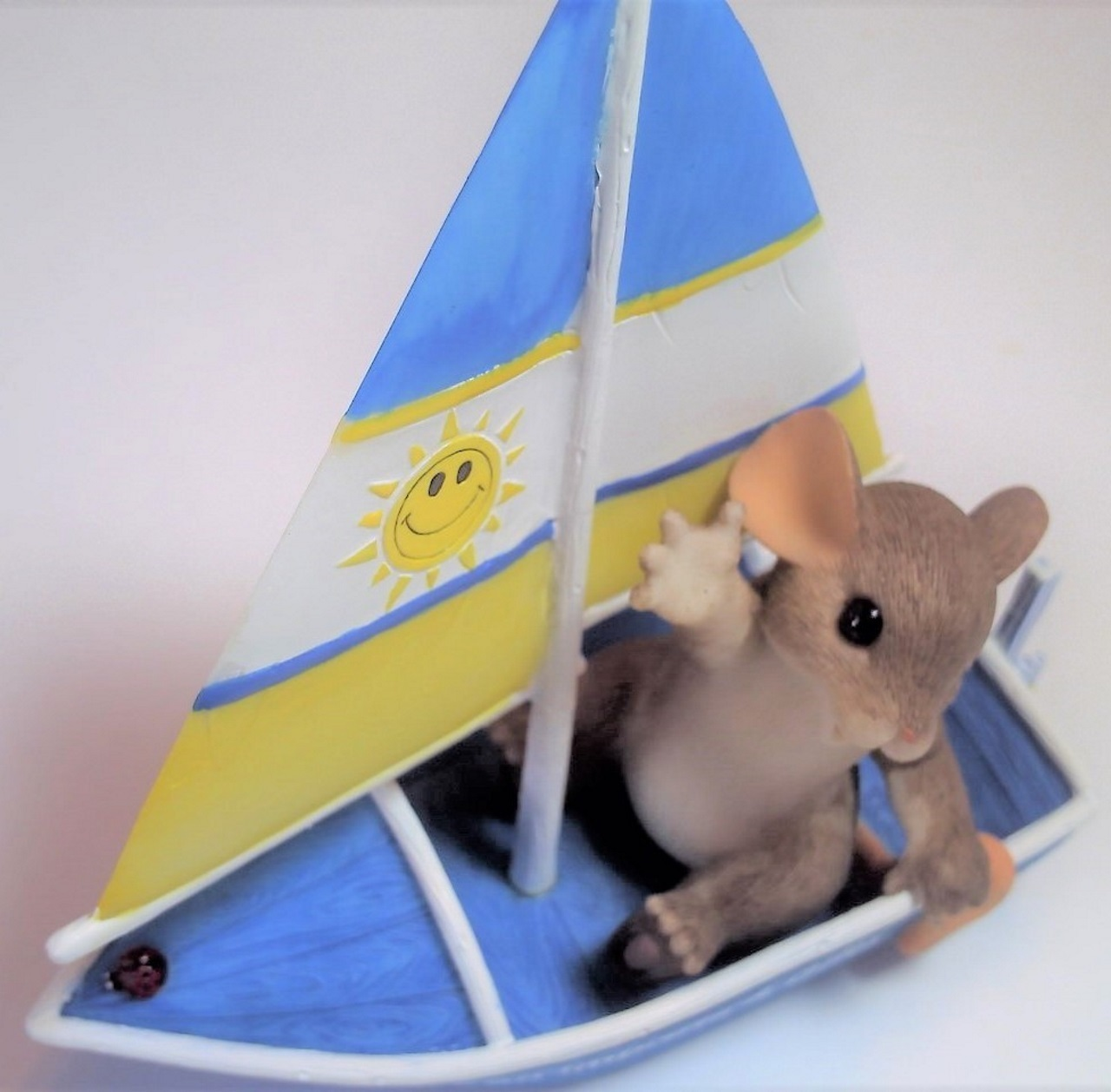 Charming Tails Sailing By to Say Hi - S.S. European Imports & Gifts 98/426
