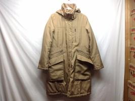 Handmade Coppertone Colored Long Heavy Jacket Sz Medium - $49.49