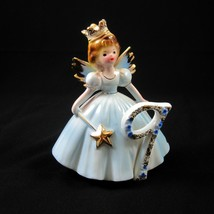 Josef Originals Birthday Girl Angel with Crown & Wand The 9th Year Figurine - $29.69
