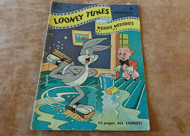 Vintage Comic Looney Tunes Merrie Melodies Dell # 105 Bugs, Porky July 1950 VG - $5.99