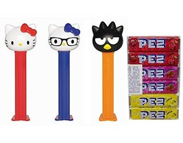 PEZ Candy Dispensers: Hello Kitty Dispenser and Candy Refill Set - Hello... - $17.81