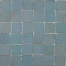 Moroccan Mosaic & Tile House MSC02-10 Tiles Handmade Mosaic 2x2in Solid Color, P