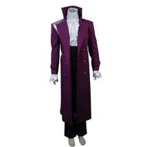 Purple Rain Costume Prince Rogers Nelson Cosplay Halloween Outfit Full Set - $119.96