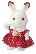 Girl of Sylvanian Families chocolate rabbit U -54 - $26.77
