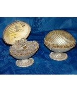 Hand Crafted Faberge Egg  Congrats Baby Granddaughter gift #4 - $27.71