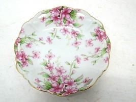 "Lefton China Pansy Violet Geo T Lefton C1994 01460 6"" Plate - $12.86"