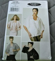 Pattern Vogue Jacket Elizabeth Gillett V8796 Uncut Factory Folded - $12.85