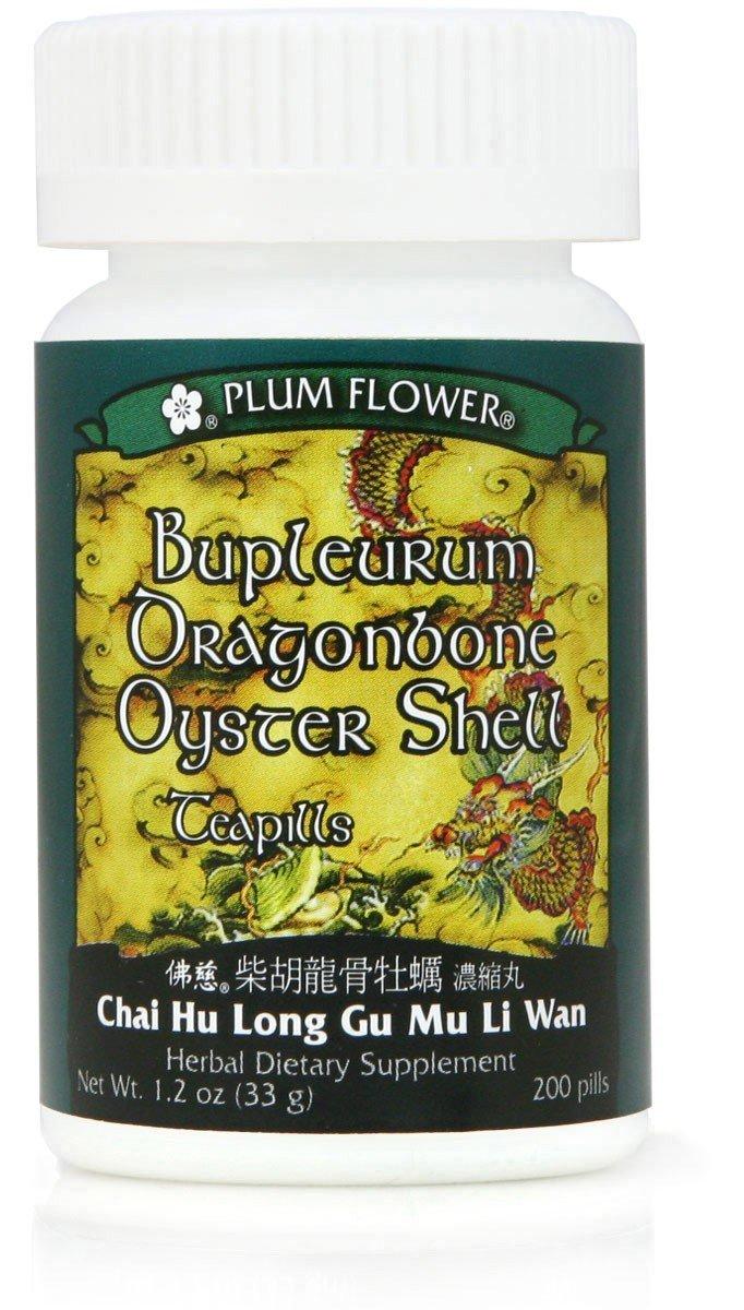 Bupleurum Dragonbone Oyster Shell Teapills Chai Hu Long Gu Mu Li Wan - $19.75