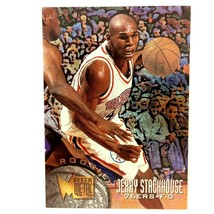 Jerry Stackhouse 1995-96 Fleer Metal Rookie Card #179 NBA Philadelphia 7... - $2.92