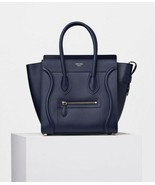 NWT 2019 Celine ink smooth leather micro luggage bag; Rtl $2900 - $2,255.04