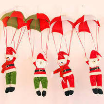 Christmas Home Ceiling Decorations Parachute - £7.40 GBP