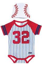 Baby Boys Baseball Bodysuit & Cap Set - $25.00