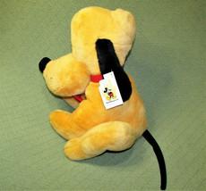"Walt Disney World 16"" Pluto With Hang Tag Stuffed Animal Large Plush Sitting Toy - $38.61"