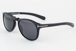 Tom Ford Flynn Shiny Black / Gray Gradient Sunglasses TF291 01B - $224.42