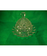 Fostoria American Clear Glass Round Covered Butter Dish - $49.45