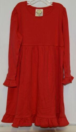 Blanks Boutique Long Sleeve Empire Waist White Ruffle Dress Size 5T
