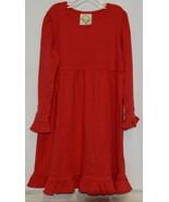 Blanks Boutique Long Sleeve Empire Waist White Ruffle Dress Size 5T - $32.00
