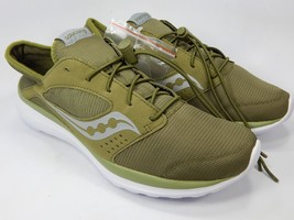 Saucony Kineta Relay Nylon Men's Running Shoes Size 9 M EU 42.5 Olive S25244-28