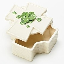 Roman Inc Cross Shamrock Keepsake Box - $14.95