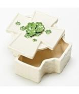 Roman Inc Cross Shamrock Keepsake Box - $14.95