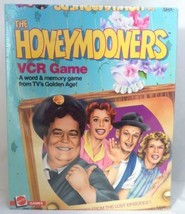 The Honeymooners VCR Game TV Show Golden Age Mattel VHS Format NEW & SEALED - $24.19