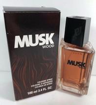 New In Box Avon Musk Wood Cologne Spray 3.4 fl.oz. Retired - $18.80