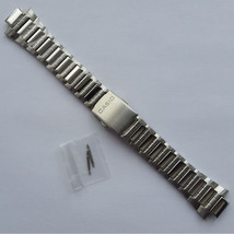 Genuine Watch Band Stainless Steel Bracelet 13mm Casio AMW-700D-7A - $31.60