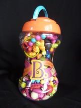 B. Toys Pop Arty Kids Jewelry Making Snap Beads Kit Bracelet Necklace 30... - $17.05