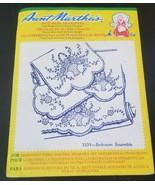 Aunt Martha's hot iron transfers 3339 Bedroom Ensemble - $3.91