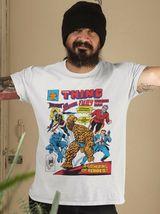 The Thing Wonder Man Beast Ms Marvel Fury comics bronze age cotton graphic tee image 3
