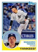 2018 Topps 1983 Topps #83-78 Masahiro Tanaka NM-MT Yankees - $0.98
