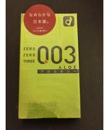Okamoto 003 aloe jelly condoms 0.03mm ultra thin 10pcs Made in Japan(US ... - $14.89