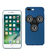 Reiko iPhone 8 Plus/ 7 Plus Case With Led Fidget Spinner Clip On In Navy DTPUSP- - $13.95