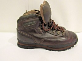 Timberland 95310 Size 9 M Brown Leather Euro Hiker Trail Boots Shoes For... - $703,11 MXN