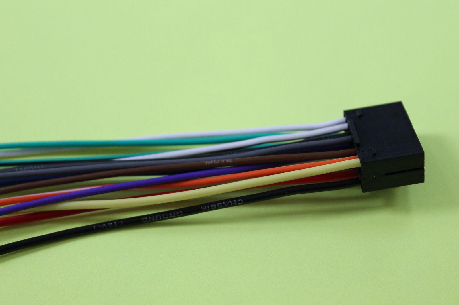 wire harness for jvc kd s38 includes 1 and 50 similar items rh bonanza com JVC Wiring Harness Diagram JVC KD R330 Wiring-Diagram