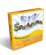 Spontuneous - The Song Game - Sing It or Shout It  (Family / Party Board Game) - $29.95