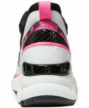 Michael Kors Women's Animal-Print Calf Hair Mickey Scuba Trainer Sneakers Shoes image 4