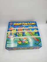 Gears! Gears! Gears! Dizzy Fun Land Motorized Building Set over 90% Comp... - $19.37