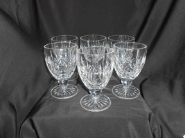Waterford Lismore Low Goblet Set Of 6 Fine Dining - $142.50
