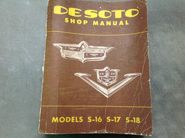 1952 1953 Desoto S16 S17 S18 Firedome Workshop Service Shop Repair Manua... - $118.75