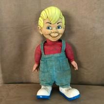 "Vintage Beany Doll Mattel 15"" Non Talking string cartoon 1960s cecil large plush - $54.50"